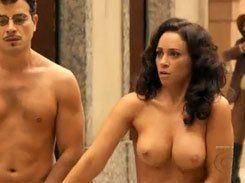 Suzana Pires ficando pelada em novela da Globo