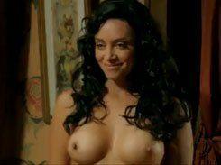 Suzana Pires gostosa ficando pelada em Gabriela