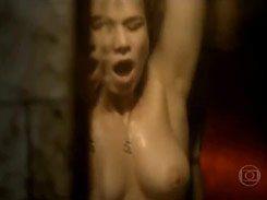 Mariana Ximenes gostosa pelada nua transando