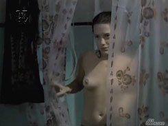 Natália Lage pelada nua mostrando peitinho lindo