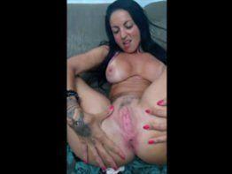 Atriz porno Elisa Sanches em video caseiro nua